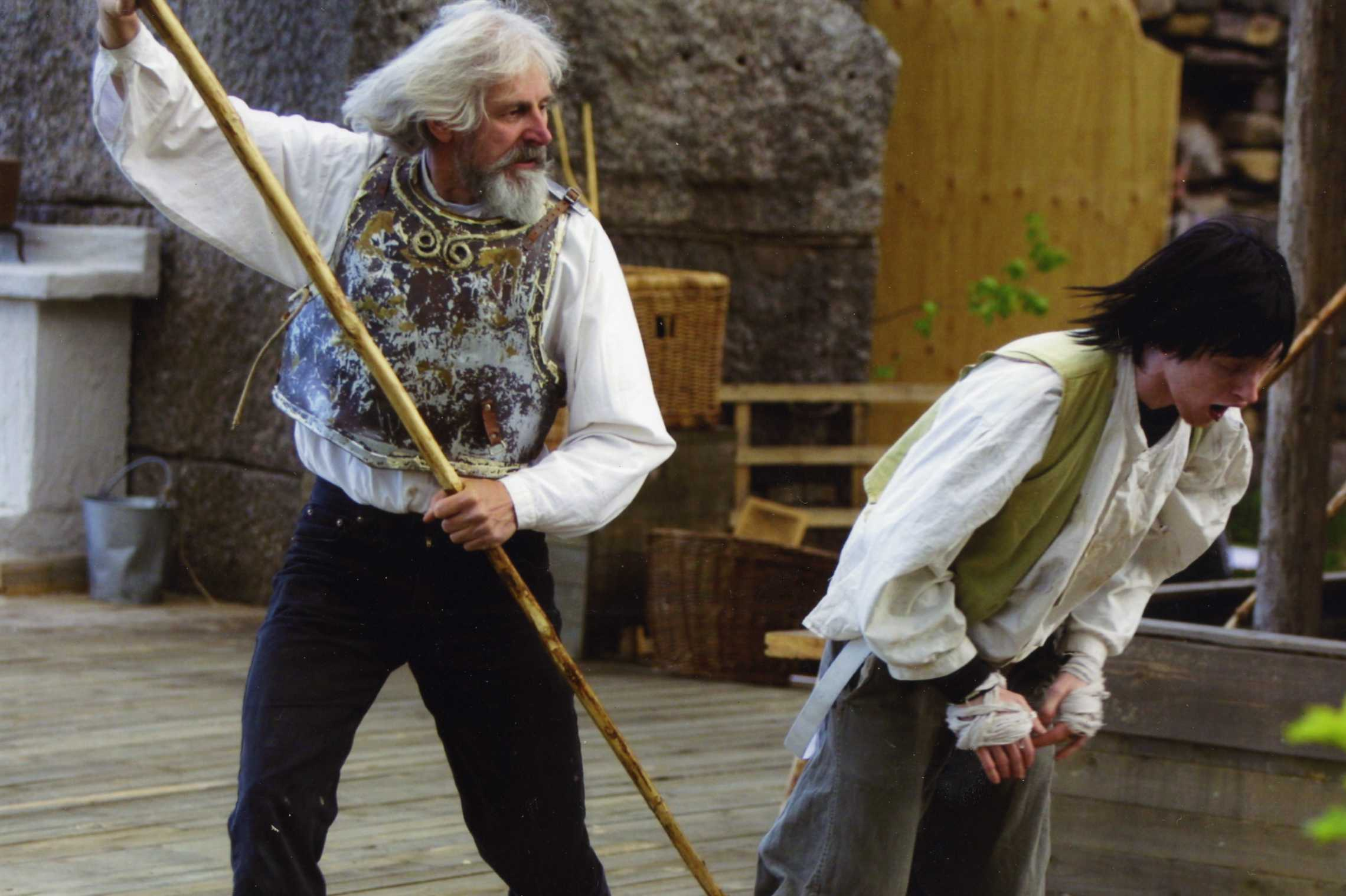 Bråka Aldrig Med Don Quiotte I Mannen Från La Mancha