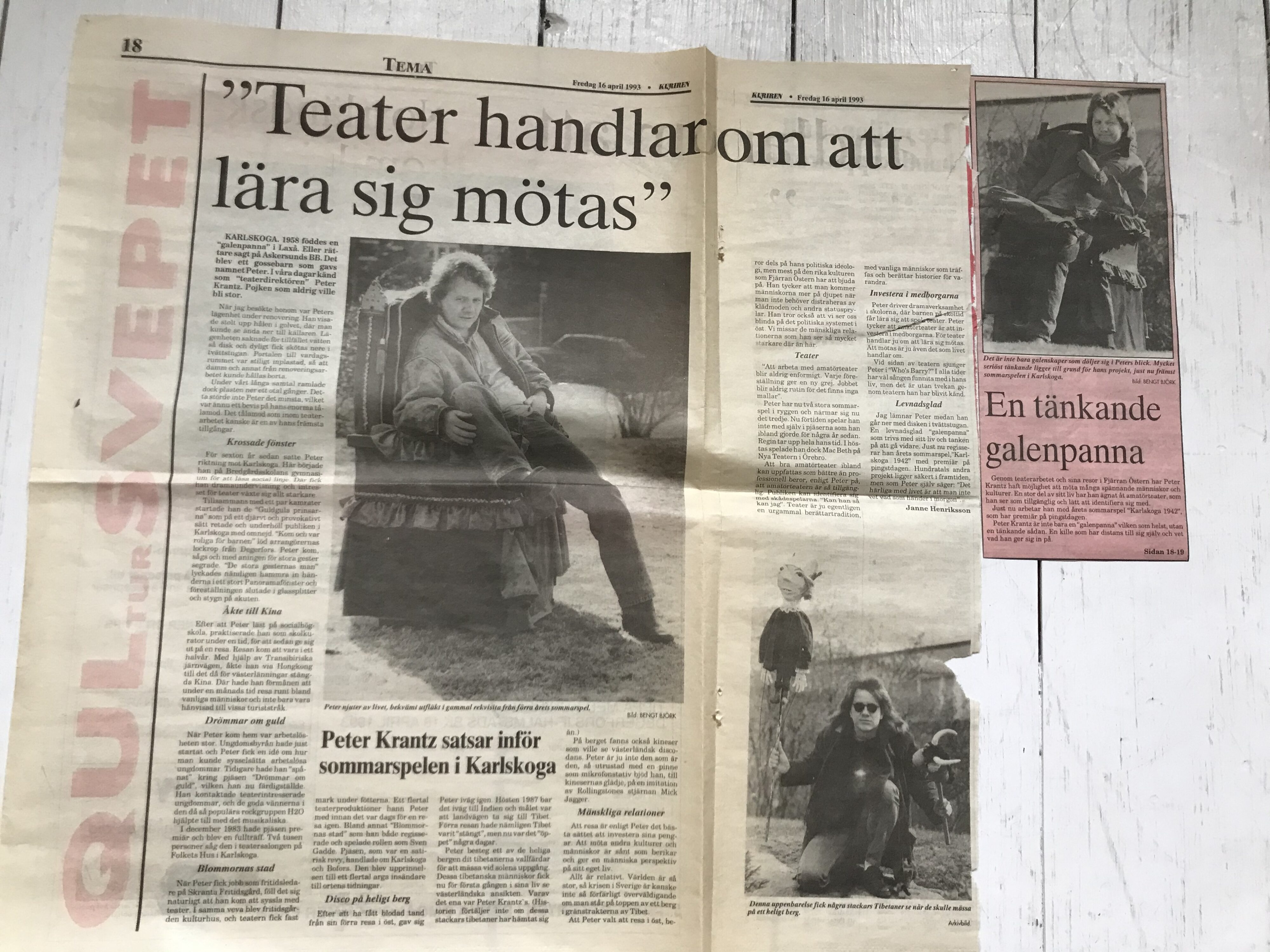 Reportage 1993