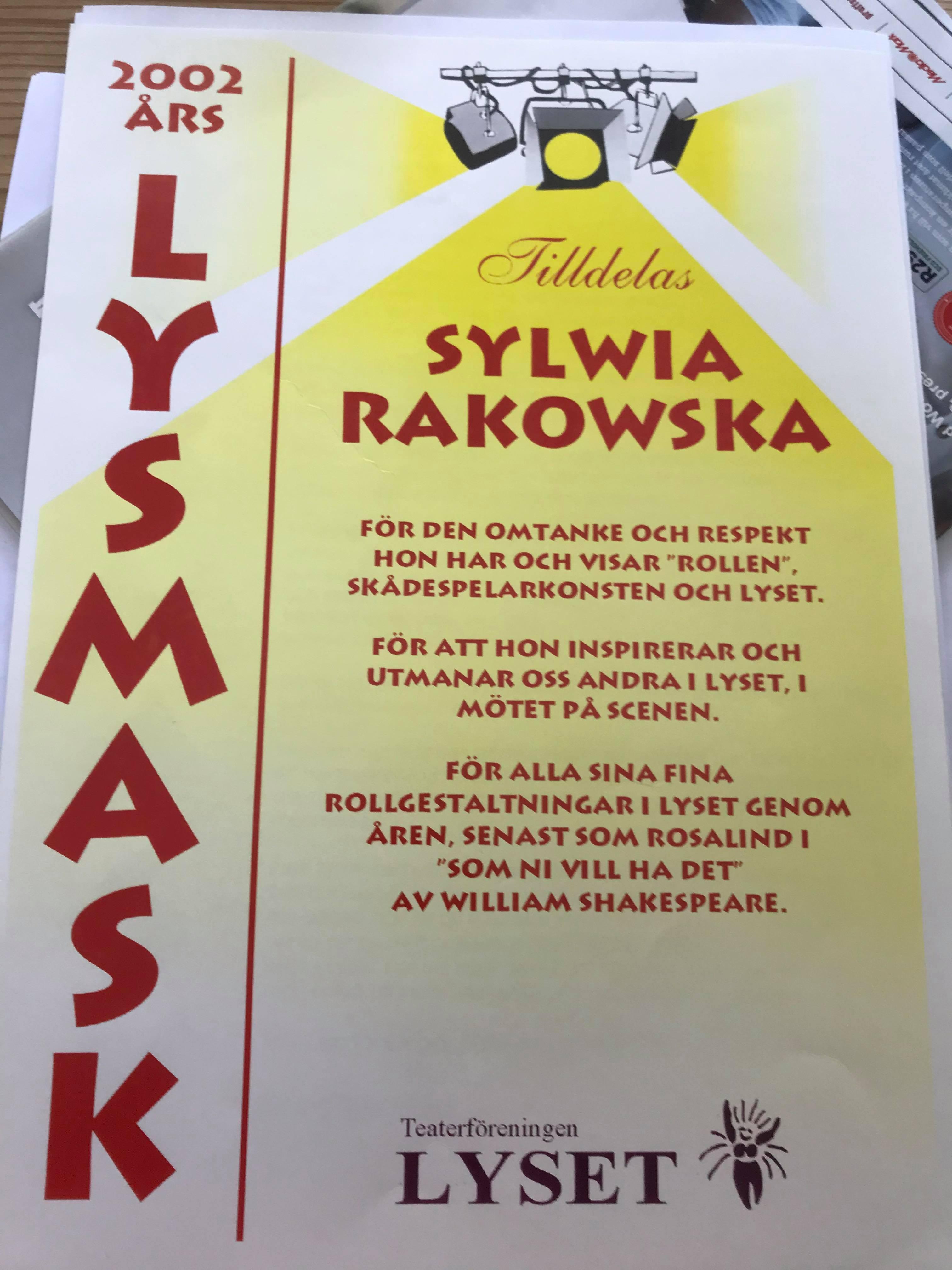 Sylwia Rakowska