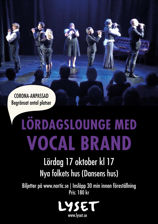 Lördagslounge med Vocal Brand